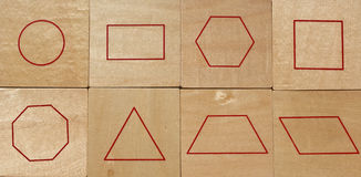 Geometric Shapes Royalty Free Stock Photos