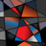 Geometric shapes Stock Image