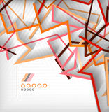 Geometric shapes abstract background Stock Photos