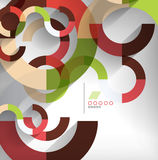 Geometric shapes abstract background. This is file of EPS10 format Royalty Free Stock Photos