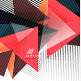 Geometric shapes abstract background Royalty Free Stock Images