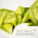 Geometric shapes in the air. Vector abstract Stock Photos