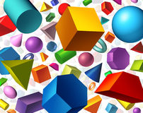 Geometric Shapes Royalty Free Stock Images