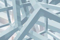 Geometric Shapes Background Stock Image