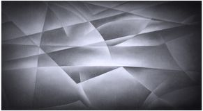 Geometric Shapes Black and White royalty free illustration