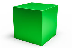 Geometric shapes cube Stock Photography