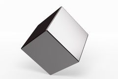 Geometric shapes cube Royalty Free Stock Photos