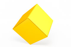 Geometric shapes cube Stock Photos