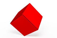 Geometric shapes cube Stock Photo