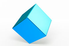 Geometric shapes cube Royalty Free Stock Images