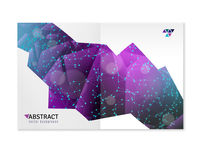 Geometric Shapes 3D Abstract Design Royalty Free Stock Photos