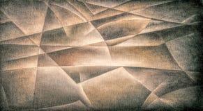 Geometric Shapes Dark Brown 2 vector illustration