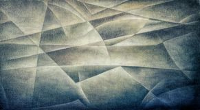 Geometric Shapes Dark Olive royalty free illustration
