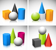 Geometric shapes Royalty Free Stock Image