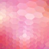 Geometric shining pattern with hexagon Stock Photos