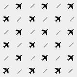 Geometric simple monochrome minimalistic  holiday pattern. planes. Geometric simple monochrome minimalistic  holiday pattern, planes Stock Photography
