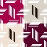 Bauhaus pattern8. Geometric simple seamless pattern.Constructivism art style.Russian constructivism. Vector colorful texture . Bauhaus abstract textile stock illustration