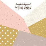 Geometric simple textured universal background. Royalty Free Stock Photography