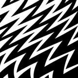 Geometric Simple Zigzag Print, Wave Pattern royalty free illustration