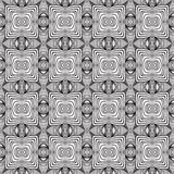 Geometric sixties wallpaper design Stock Photography
