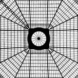 Geometric Skylight Pattern Stock Photography
