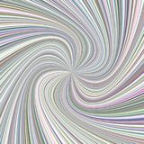 Geometric spiral background - vector illustration from spinning rays Stock Images
