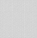 Geometric pattern with straight angles Stock Image