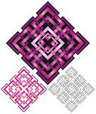 Geometric spot illustration Royalty Free Stock Photos