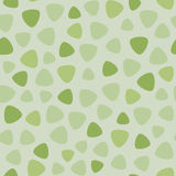 Geometric spots vector seamless pattern. Fresh green colors Royalty Free Stock Images