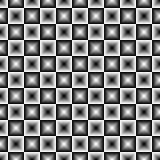 geometric square seamless pattern.Fashion graphic design.Vector illustration. Background design.Optical illusion 3D.Modern stylish Stock Photo