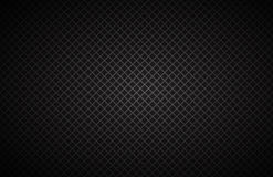 Geometric squares background, abstract black metallic wallpaper Royalty Free Stock Images