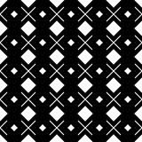 Geometric squares black and white hipster fash Stock Images
