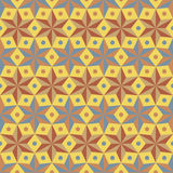 Geometric stars seamless pattern.Fashion graphic design.Vector illustration. Background design. Optical illusion. Modern stylish a Royalty Free Stock Images