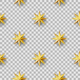 Geometric Stars seamless pattern Royalty Free Stock Photography