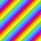 Geometric striped seamless background, bright rainbow spectrum colors. Geometric striped background, bright rainbow spectrum colors. LGBTQ colors. Abstract vector illustration