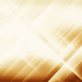 Geometric striped ornament. Modern stylish texture. Gold linear Stock Photography