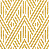 Geometric striped ornament Stock Photos