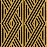 Geometric striped ornament Royalty Free Stock Photo
