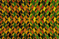 Geometric striped pattern Royalty Free Stock Photo