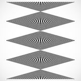 Geometric structure of vertical lines, stripes. Abstract monochr Stock Photo