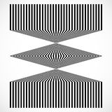 Geometric structure of vertical lines, stripes. Abstract monochr Stock Images