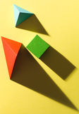 Geometric study Royalty Free Stock Photo