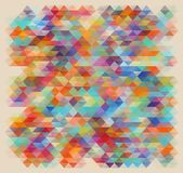 Geometric style abstract color background Stock Photo