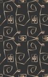 Geometric stylish ornament Royalty Free Stock Images
