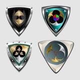 Geometric stylish texture Stock Images