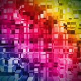 Geometric suprematism pattern. Abstract background Stock Photography