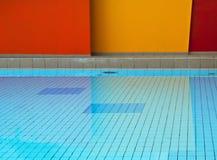 Geometric Swimming Pool Stock Image