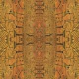 Geometric Symbols Tribal Pattern Royalty Free Stock Images