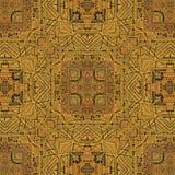 Geometric Symbols Tribal Pattern Royalty Free Stock Photography