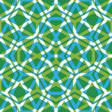 Geometric symmetric lined seamless pattern, colorful vector Stock Photo